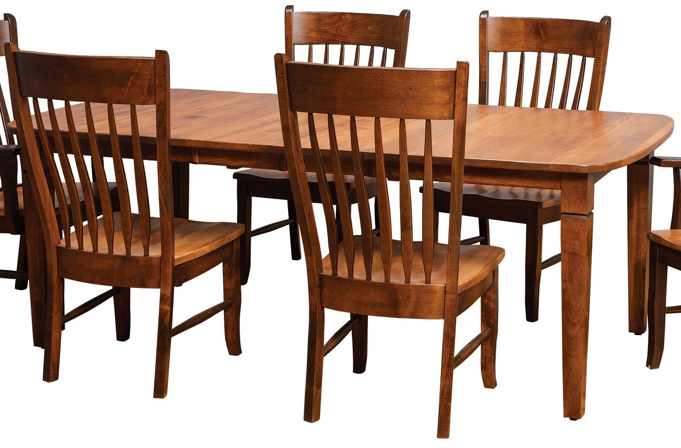 Stupendous Daniels Amish Tables Distressed Rectangular Dining Table Beutiful Home Inspiration Xortanetmahrainfo