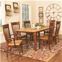 Daniel's Amish Tables Millsdale Rectangular Dining Table
