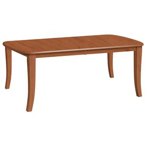 Daniel's Amish Tables Customizable Solid Wood Dining Table