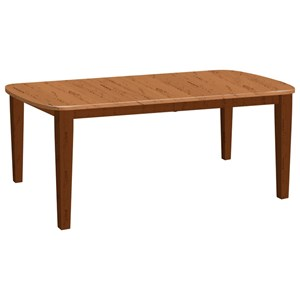 Daniel's Amish Tables Dining Leg Table