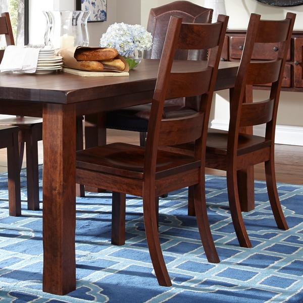 Daniel's Amish Westchester Solid Wood Side Chair - Item Number: 13-7601-31-102W-102W