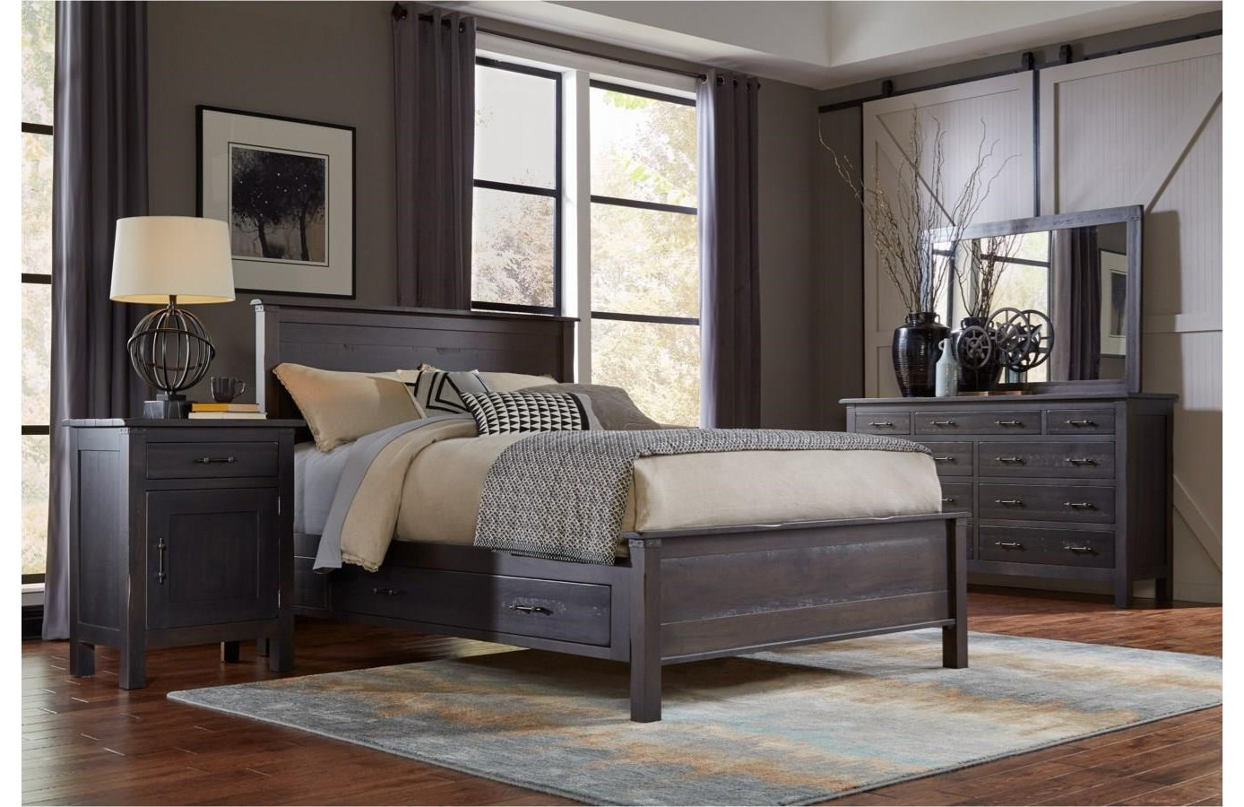 Solid Wood Bedroom Group