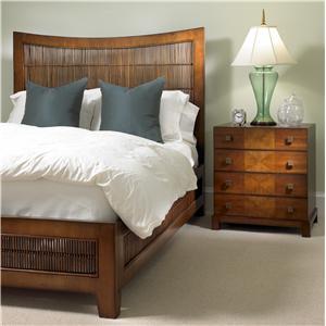 David Francis Furniture Bedrooms South Seas Platform Bed