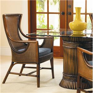 David Francis Furniture Dining Room Barbados Arm Chairs