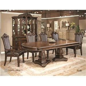 Davis Direct Coventry Pedestal dining Table Group