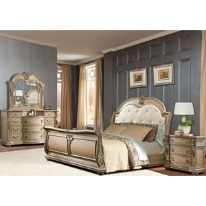 Davis Direct Monaco Queen Bedroom Group