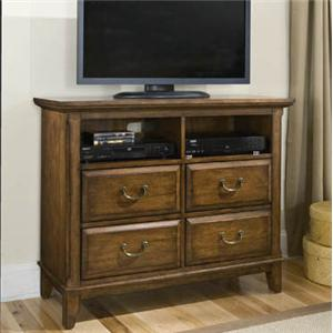 Davis Direct Mango  Media Console with 4 Drawers