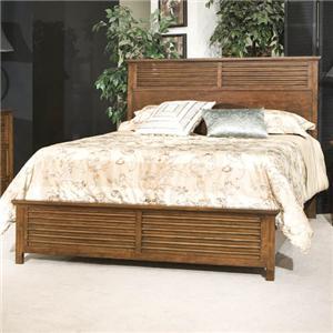 Davis Direct Melrose King Panel Headboard & Footboard Bed
