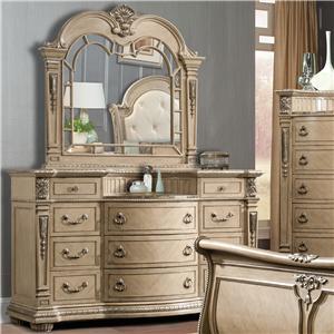 Davis International Monaco Dresser & Mirror