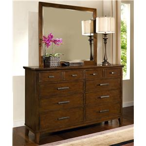 Davis Direct Sterling Heights Dresser and Mirror Combo