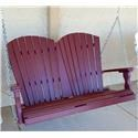 VFM Basics-HM Adirondack Fan Back Swing - Item Number: 288840