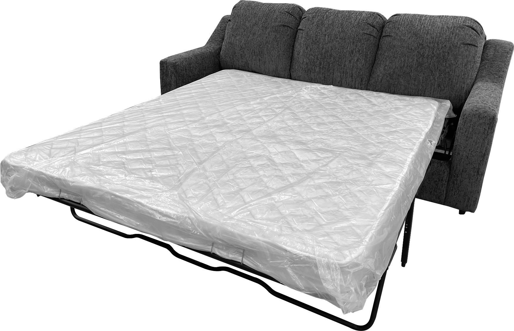 150 Queen Sleeper Oympus Charcoal by Phoenix Custom Furniture at Del Sol Furniture