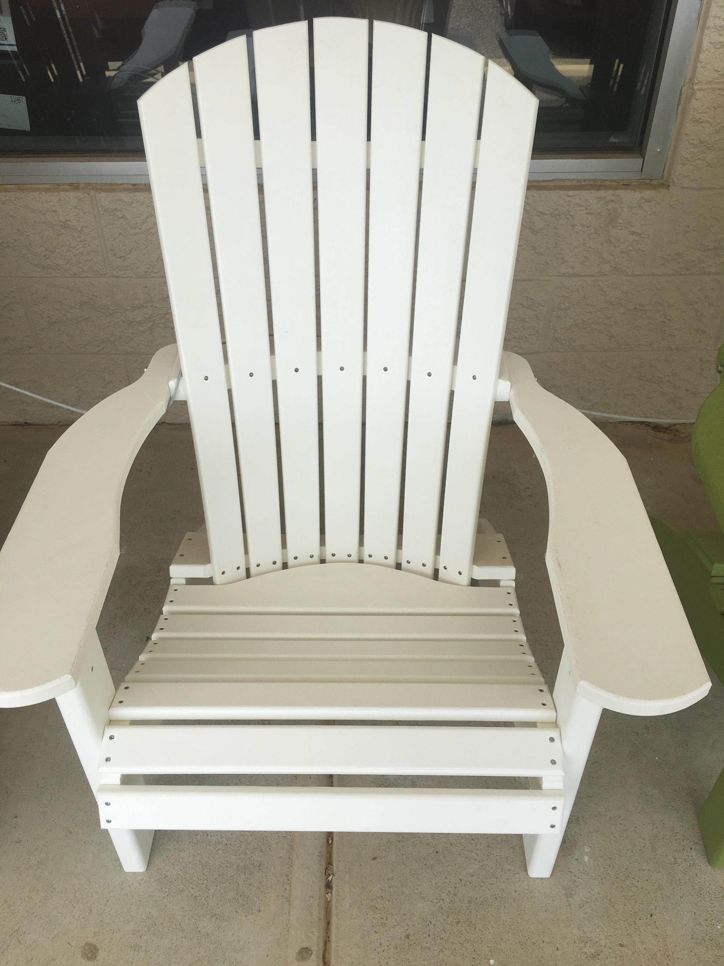 Adirondack White Chair