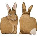 Rotmans Choice Accessories Cotton Tail Shaped Pillow - Item Number: 02-1000TSHARE