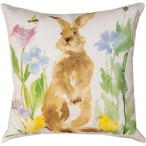 Rotmans Choice Accessories Bunny/Bee Garden Pillow