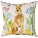 Rotmans Choice Accessories Bunny/Bee Garden Pillow - Item Number: 02-1575SCGD72