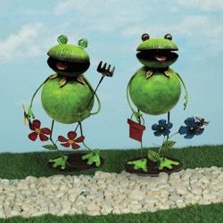 Rotmans Choice Accessories Giggly Garden Frog - Item Number: 66633