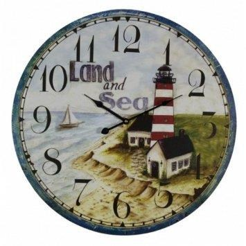 Rotmans Choice Accessories Land & Sea Wall Clock - Item Number: C-166