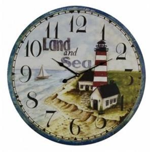 Rotmans Choice Accessories Land & Sea Wall Clock
