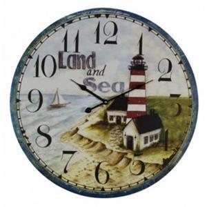 Rotmans Choice Accessories Land & Sea Wall Clock