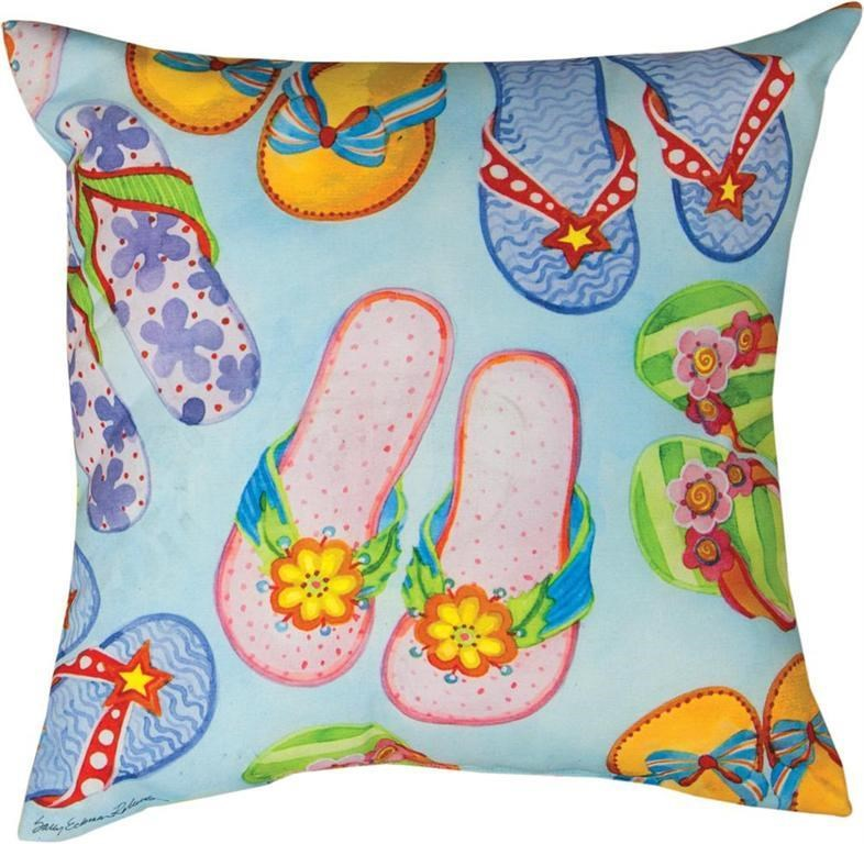 Rotmans Choice Accessories Flip-Flop Indoor/Outdoor Pillow - Item Number: FLP-OUT