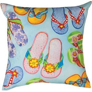 Rotmans Choice Accessories Flip-Flop Indoor/Outdoor Pillow