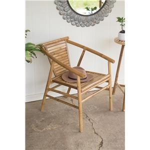 Rotmans Choice Accessories Bamboo Arm Chair