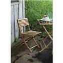 Rotmans Choice Accessories Bamboo Folding Chair - Item Number: VBN1005