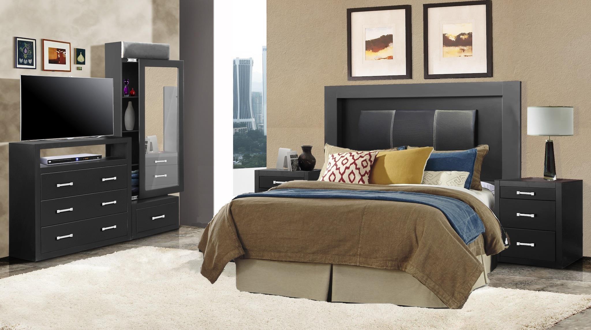 BALI BALI 5pc Bedroom Group by Phoenix Custom Furniture at Del Sol Furniture