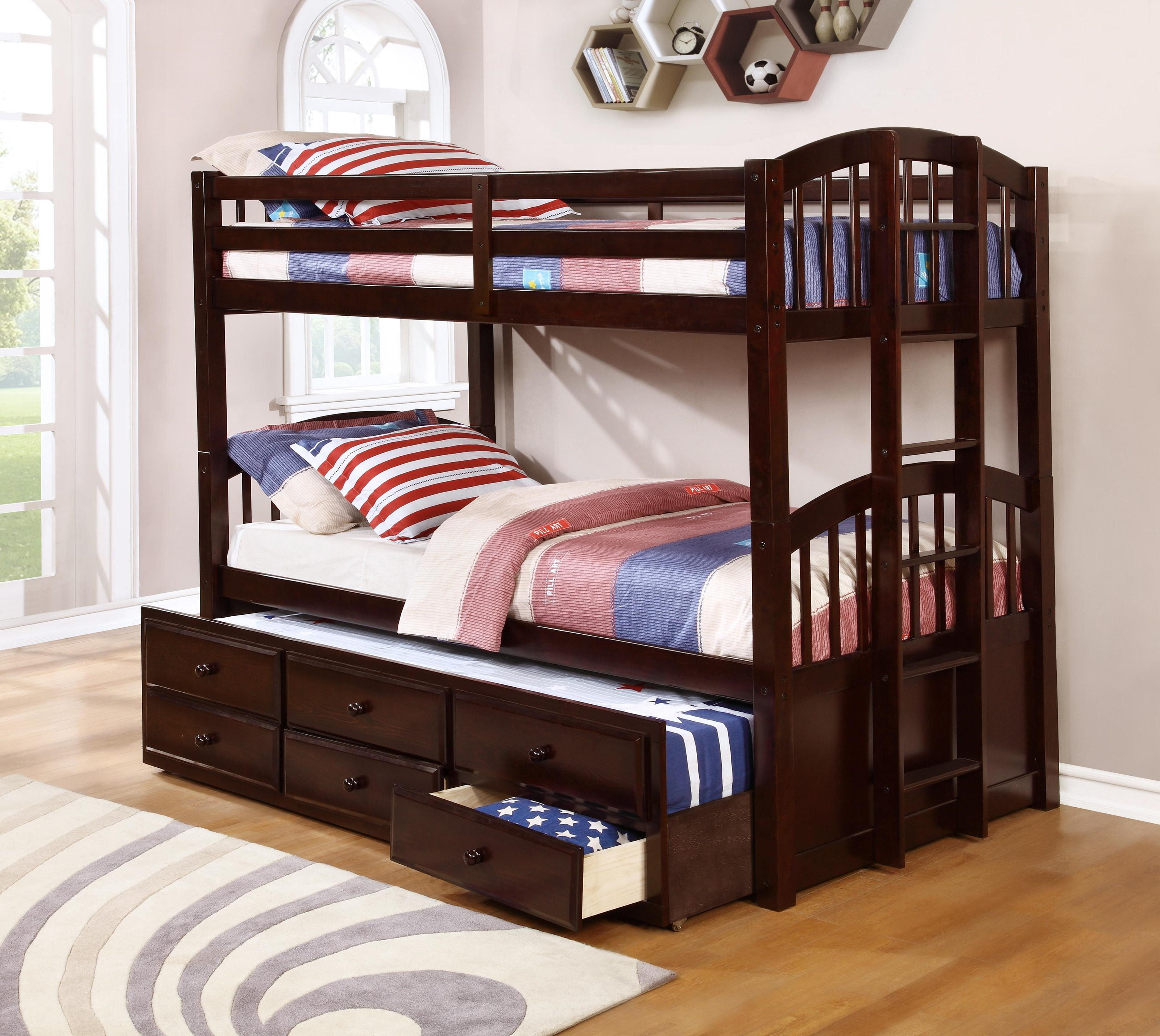 BB8146 Bunkbed by Household Furniture Direct at Household Furniture