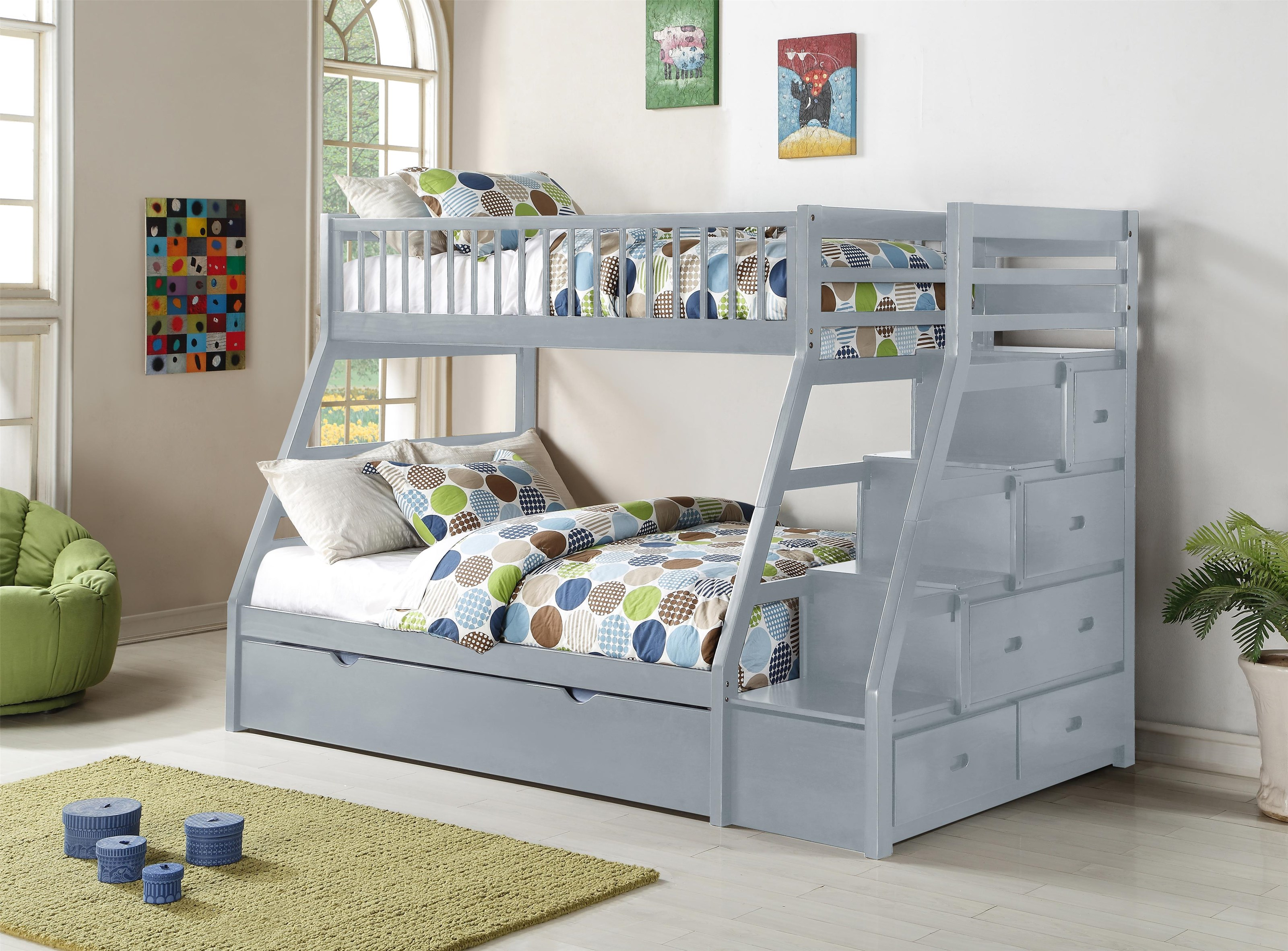 BB8690 Bunkbed by Household Furniture Direct at Household Furniture