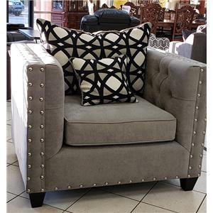 Vintage Grey Chair