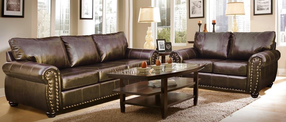 Hacienda Sofa and Love Seat by Phoenix Custom Furniture at Del Sol Furniture