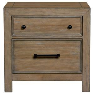 Belfort Select Ivy City 2 Drawer Nightstand