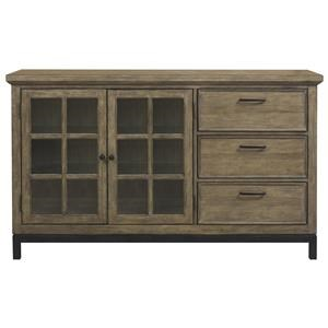 Belfort Select Ivy City Three Drawer Console Server