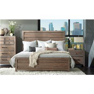Belfort Select Ivy City Queen Panel Bed Group
