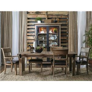 Belfort Select Ivy City 7 Piece Dining Set