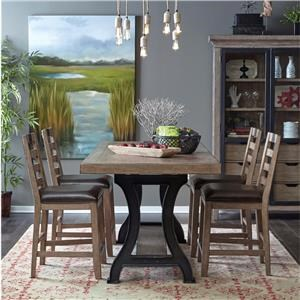 Belfort Select Ivy City 5 Piece Gathering Height Set