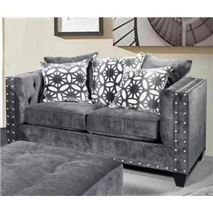 Del Sol Exclusive Roxanne Love Seat