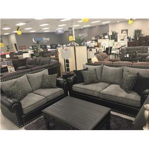 Del Sol Exclusive Stallion 2pc Sofa and Love Seat
