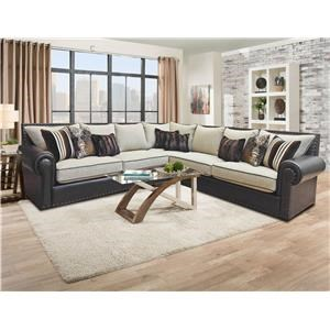 Del Sol Exclusive Stallion 3pc Sectional