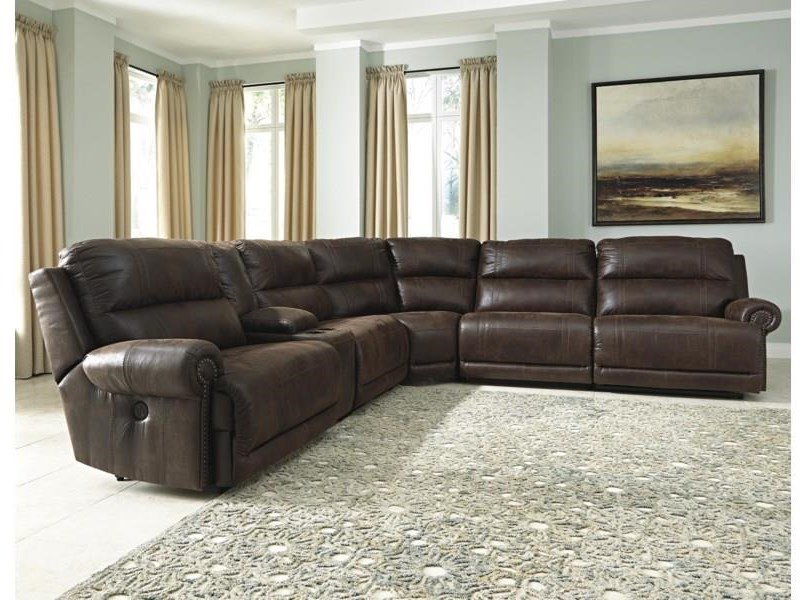 Reclining 6 Seat Sectional