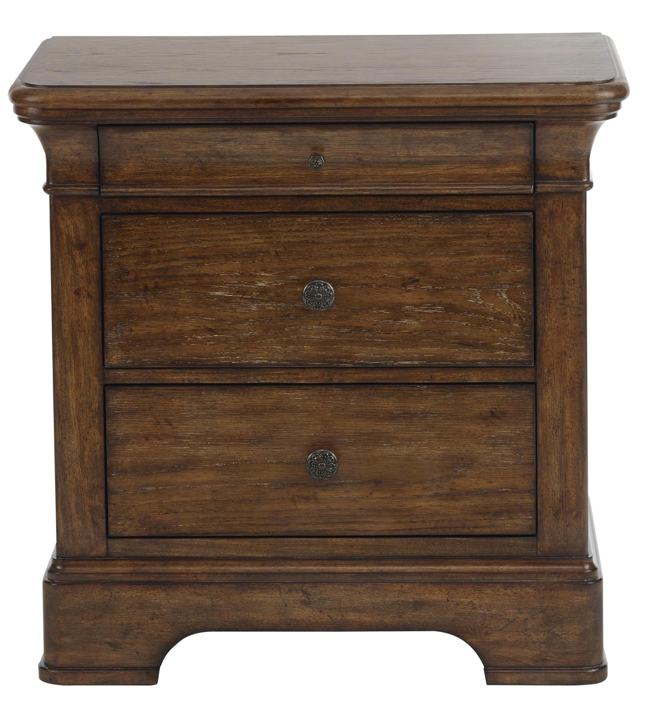 Belfort Select Virginia Mill 3 Drawer Nightstand - Item Number: 8854-050