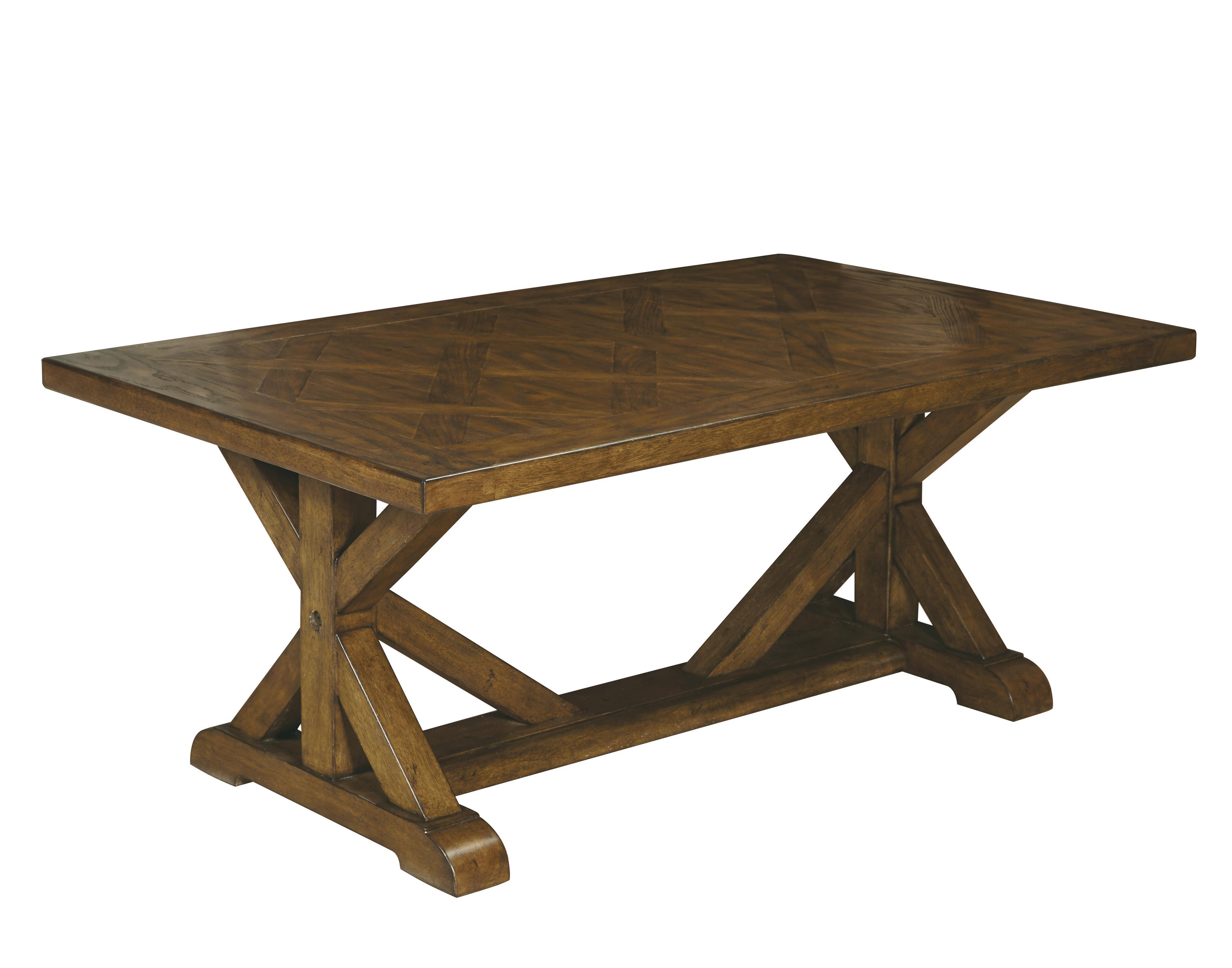 Belfort Select Virginia Mill Rectangular Cocktail Table - Item Number: 8854-100