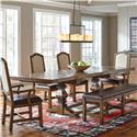 Belfort Select Virginia Mill Double Pedestal Dining Table