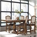 Belfort Select Virginia Mill Double Pedestal Gathering Table