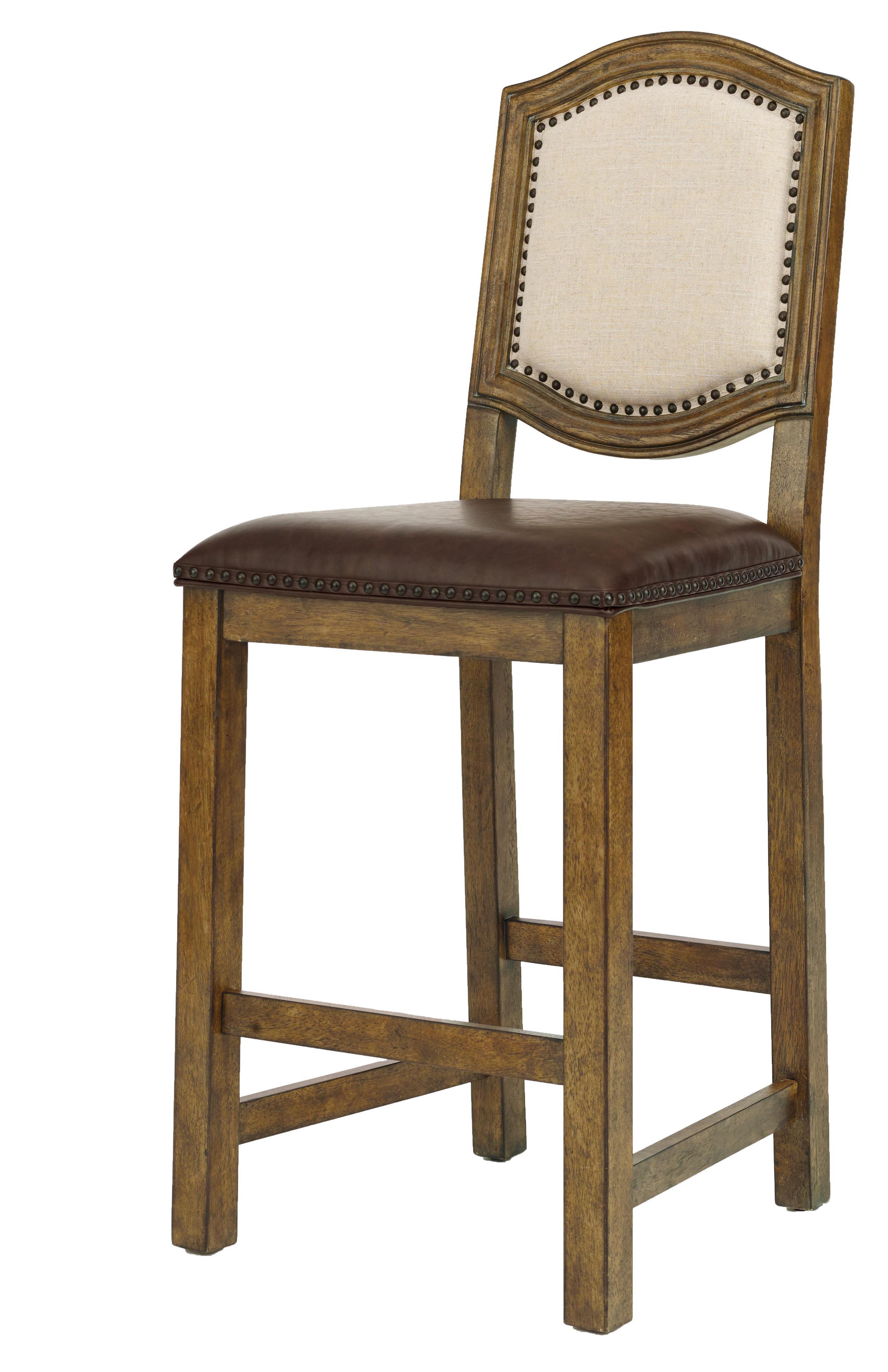 Belfort Select Virginia Mill Wood Frame Barstool - Item Number: 8854-170