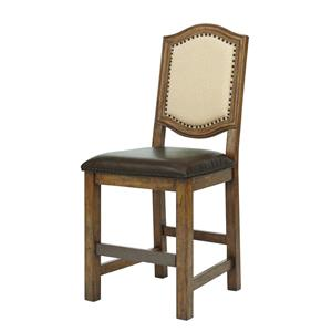 Belfort Select Virginia Mill Wood Frame Gathering Chair