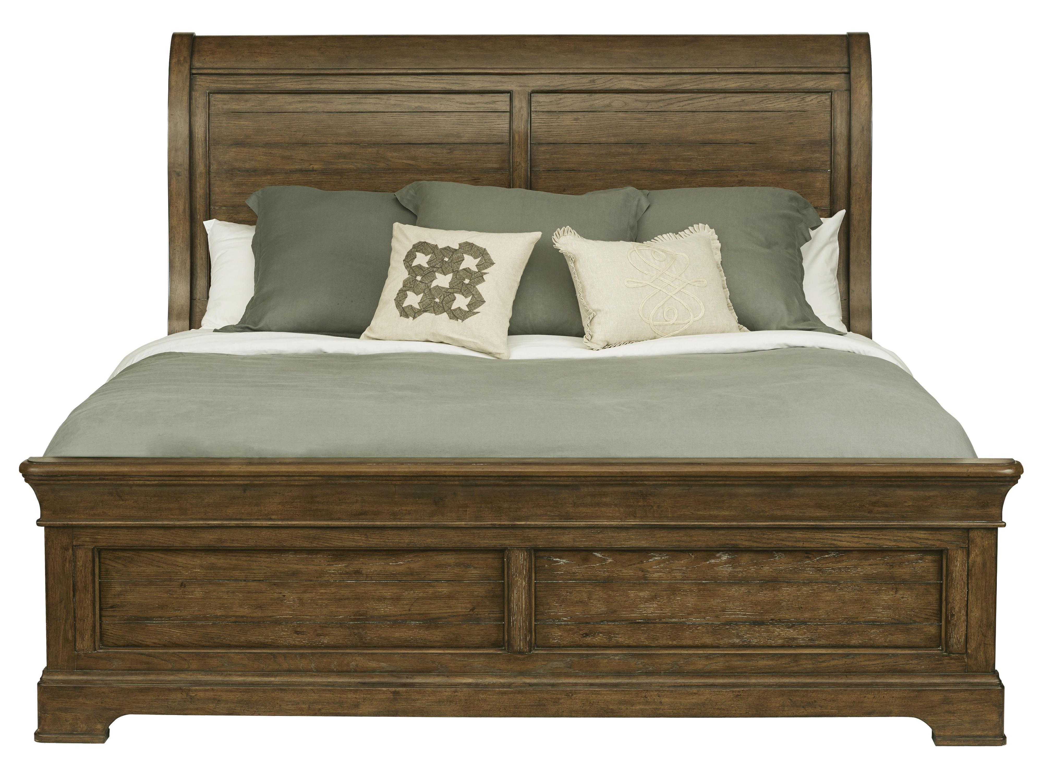 Belfort Select Virginia Mill King Sleigh Bed - Item Number: 8854-272+271+400