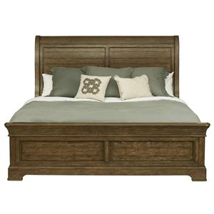 Belfort Select Virginia Mill King Sleigh Bed